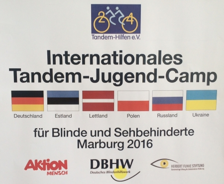 Internationales Tandem-Jugend-Camp Marburg 2016